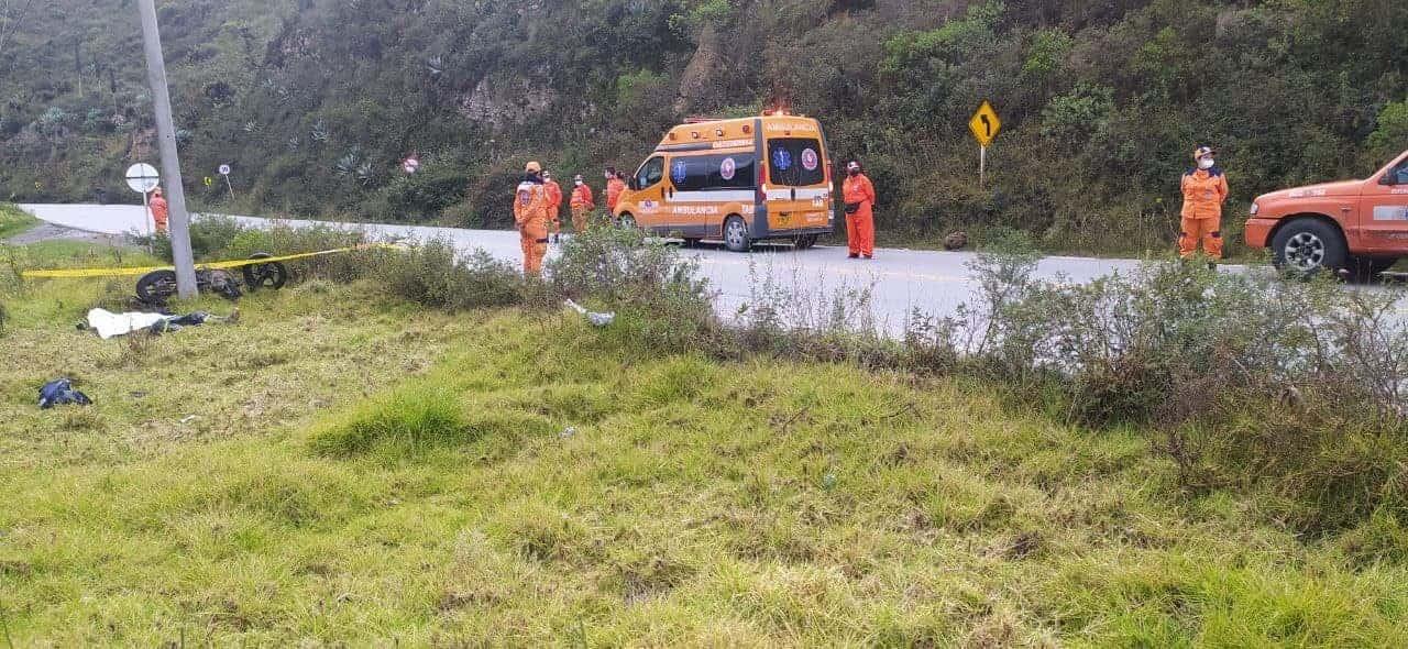 Manuel Francisco Cristancho Barrera, de 33 años de edad, murió en un accidente de tránsito en la vía Sogamoso-Corrales. Foto: archivo particular