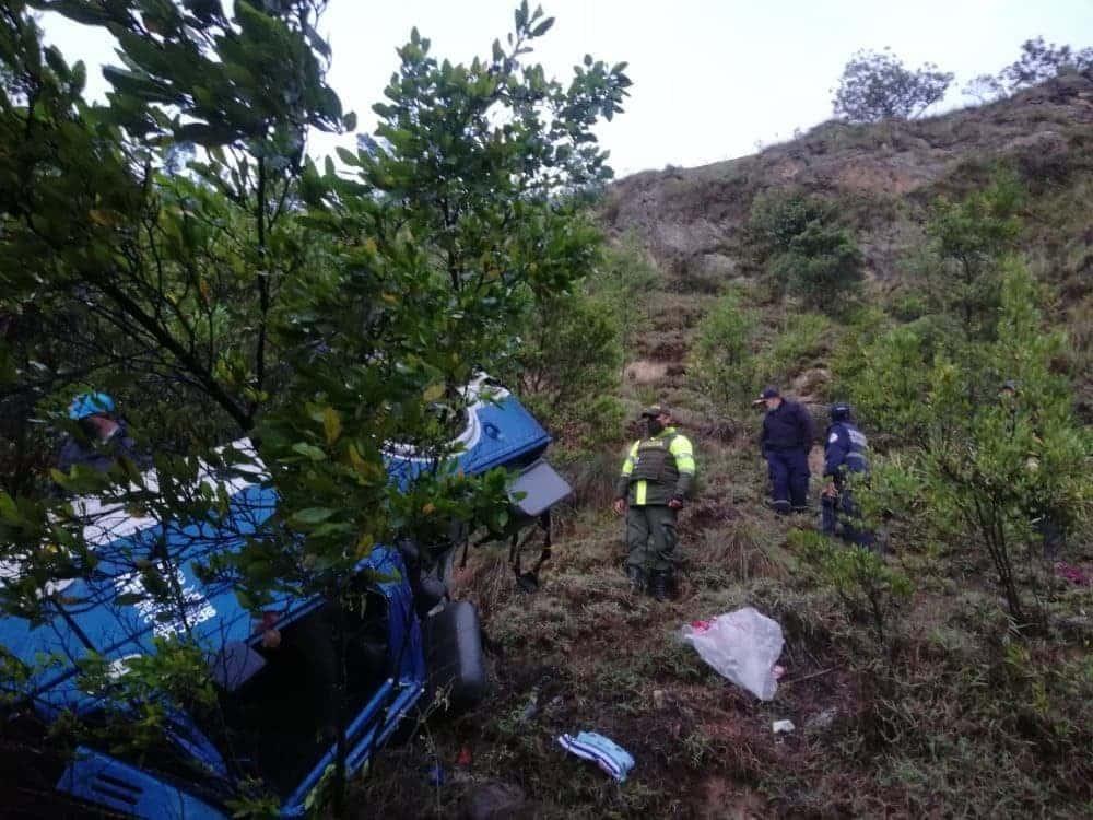 Dos muertos en accidente de tránsito en vía de Boyacá 2