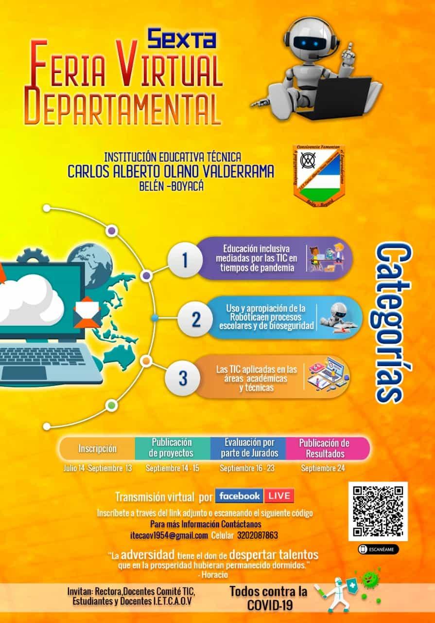 En Belén se realizará la Sexta Feria Virtual Departamental 1