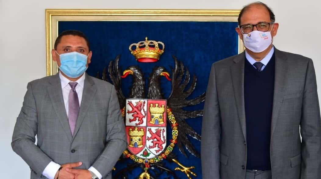 El embajador de México visitó la capital Boyacense 1