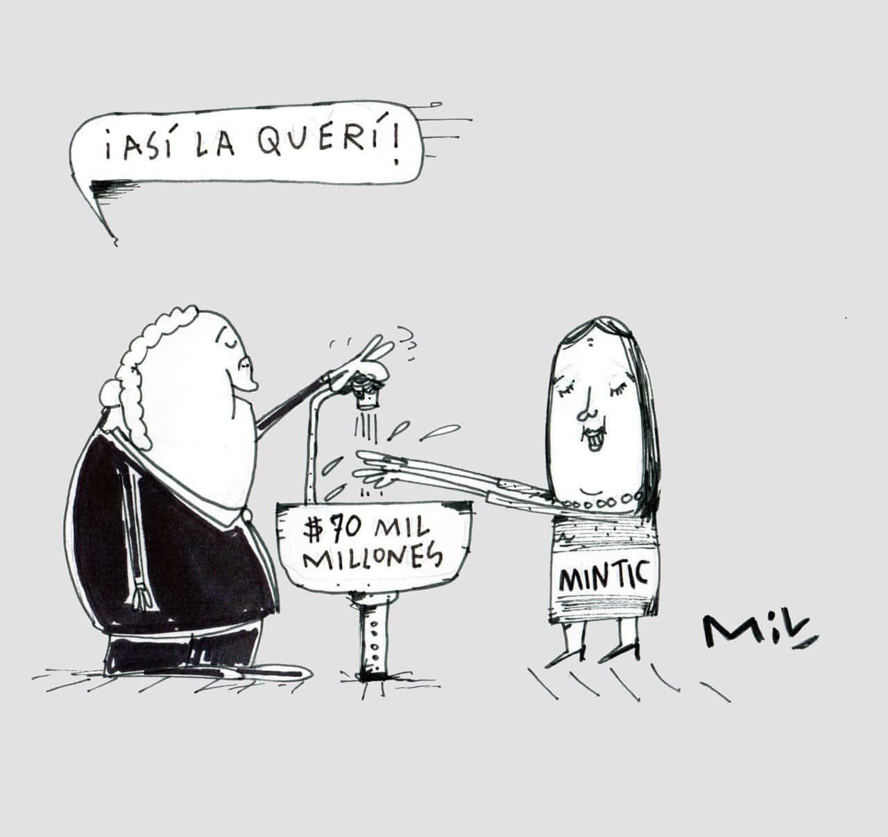 Así la querí - #Caricatura7días 1