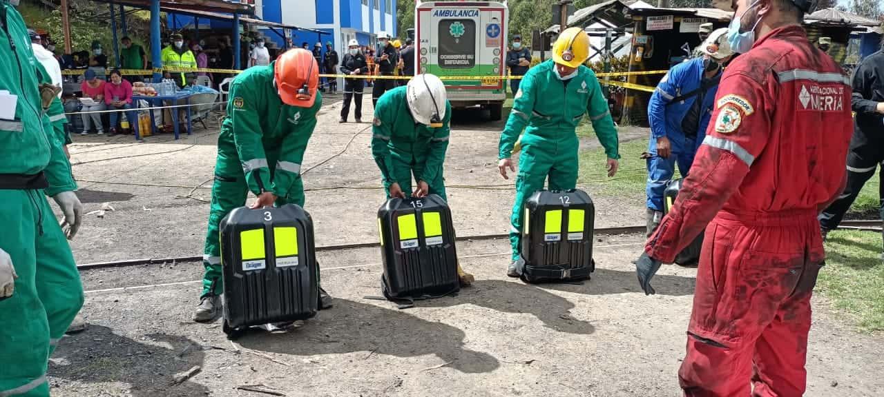 Ya fueron rescatados los cadáveres de 10 trabajadores de una mina de carbón que explotó en Boyacá 1