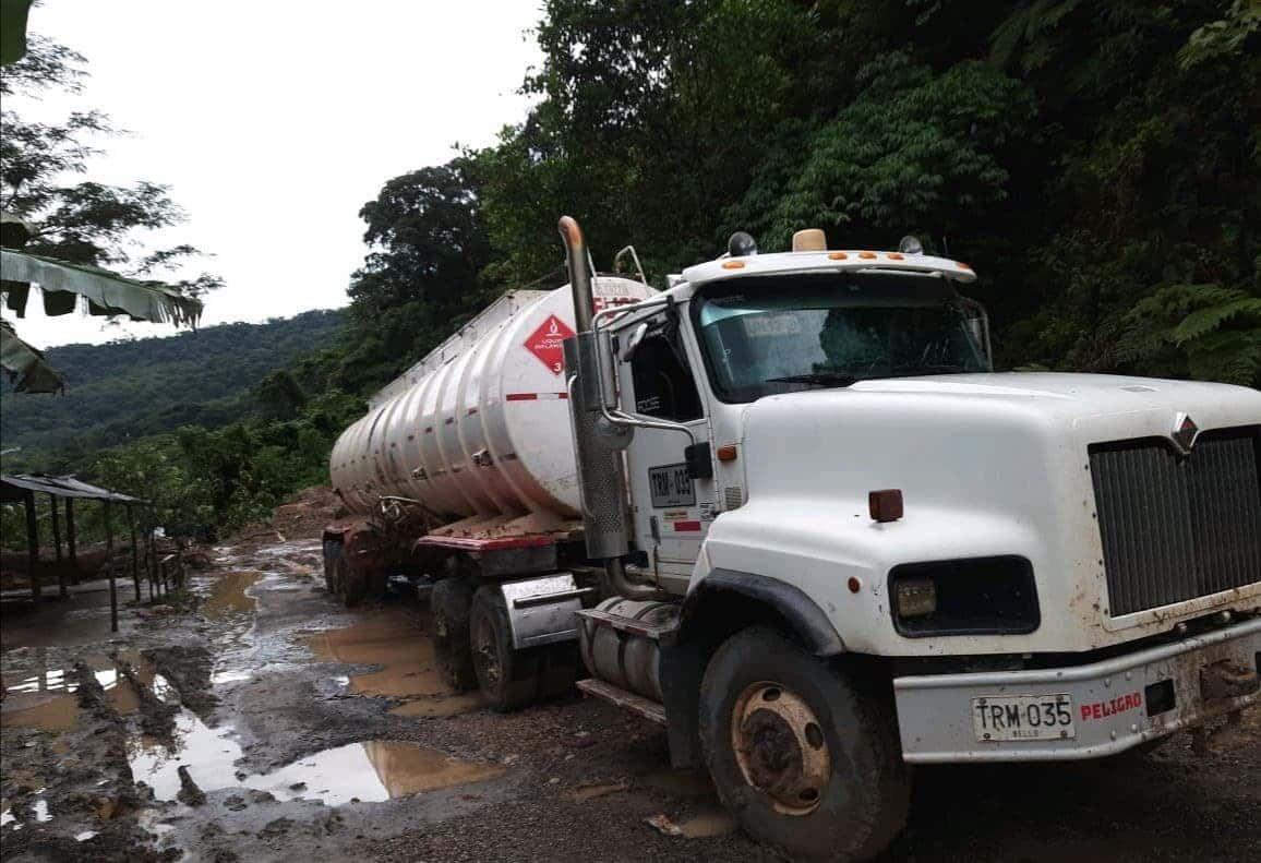 Cierre de la vía Sogamoso-Aguazul va para largo, por inestabilidad de la zona donde se presenta un derrumbe 1
