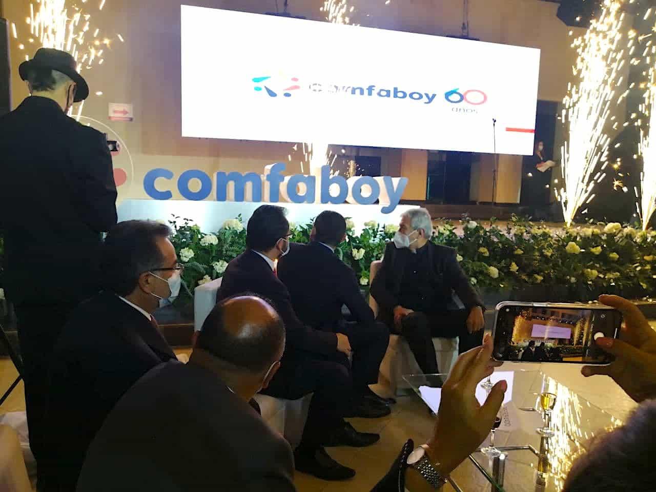 La noche que Comfaboy celebró con alfombra roja sus 60 años de labores 2