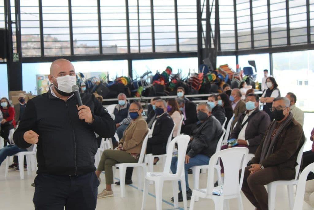 Los pensionados celebraron su día con Colpensiones en Tunja 1