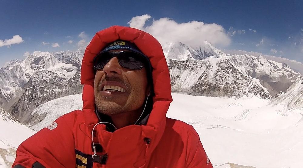 Fernando González Rubio es el primer colombiano en alcanzar sin oxígeno artificial seis de las 14 cumbres más altas del planeta. Foto: archivo particular