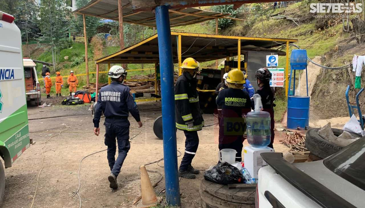 A 12 se podría elevar el número de víctimas por explosión de una mina de carbón en Boyacá 1