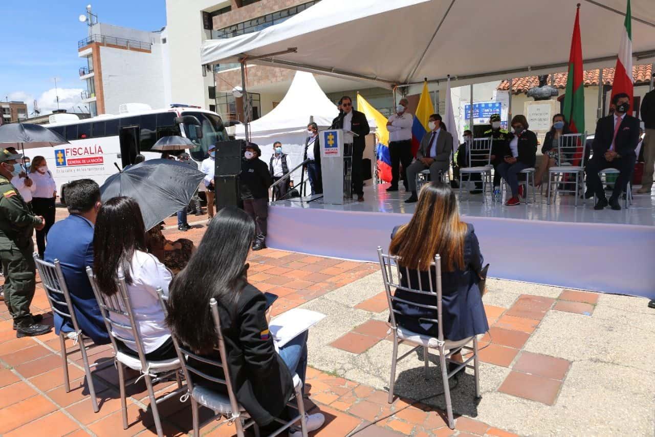 La Fiscalía durante estos tres días está lanzando programa piloto nacional en Boyacá 1