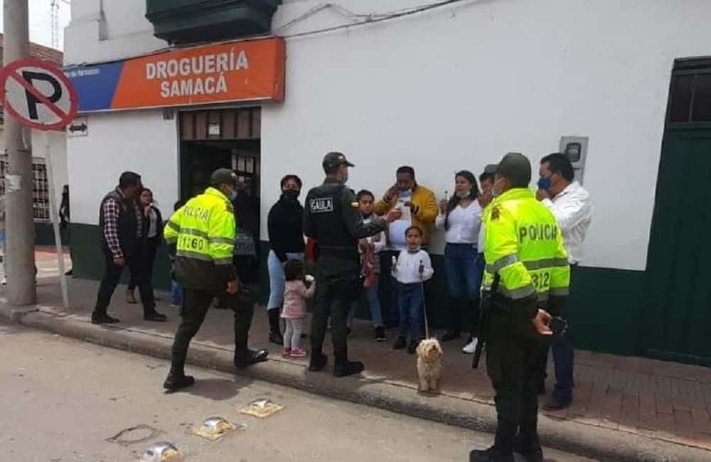 Jornadas de prevención del secuestro y la extorsión realiza el Gaula de la Policía en Boyacá 1