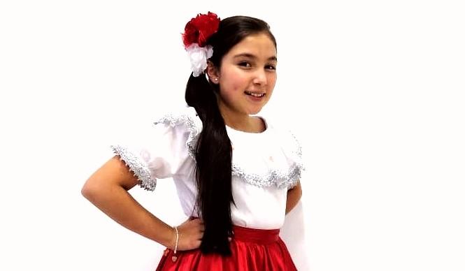 La inclinación de Julieth por la música andina colombiana, le ha permitido ganar y estar en los más destacados escenarios de este género en Colombia como el Festival Mono Núñez. Fotografía Archivo particular.