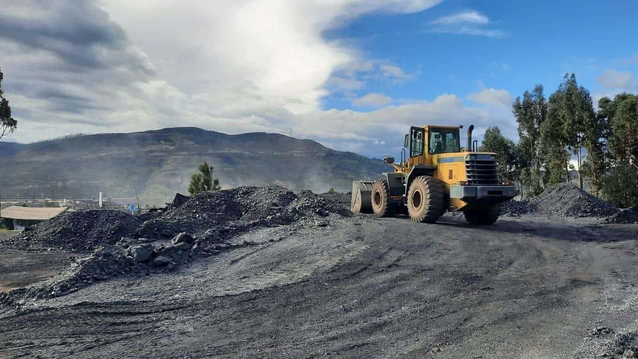 Corpoboyacá impuso medida preventiva de suspensión a cuatro acopios de carbón por no contar con el permiso de vertimientos, entre otros. Foto: archivo particular