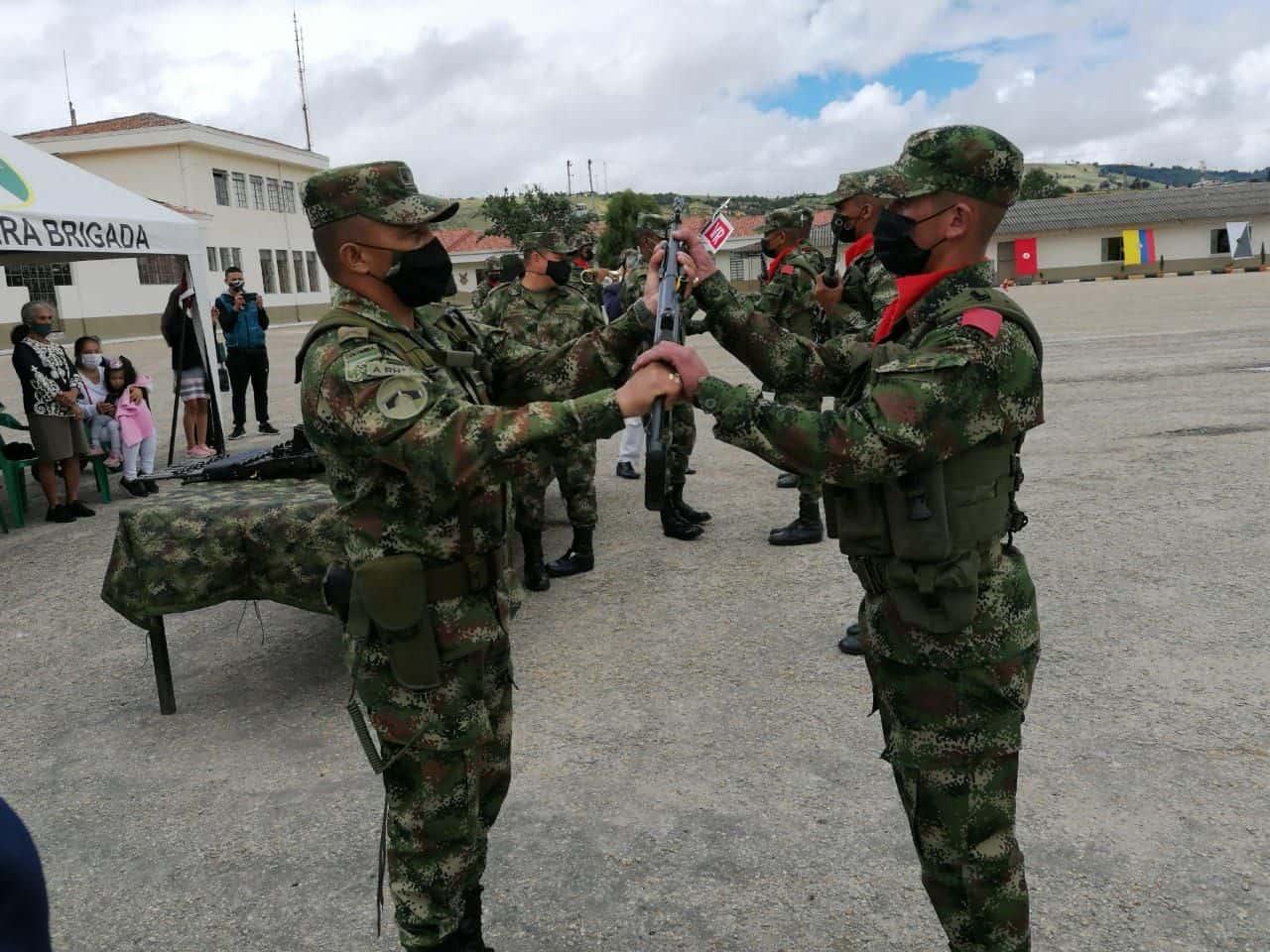 Hasta el próximo martes hay plazo para incorporarse al Ejército en el departamento de Boyacá y definir la situación militar. Archivo Particular
