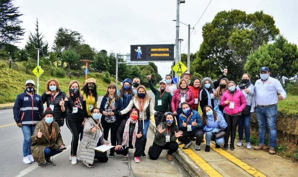 Más de 40 operadores turísticos visitaron el Valle de Tenza 1