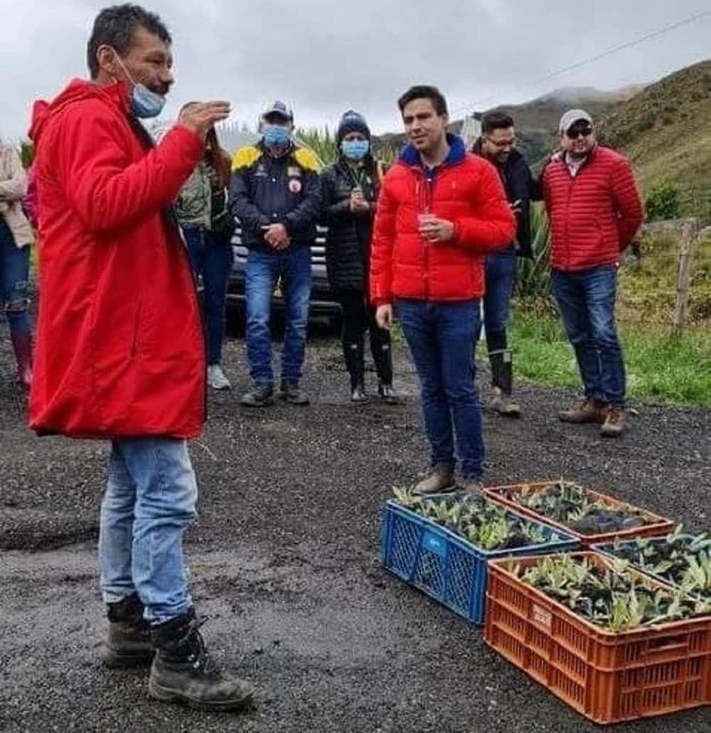 Sogamoseños se unieron en favor del páramo de La Sarna #AlNatural 3