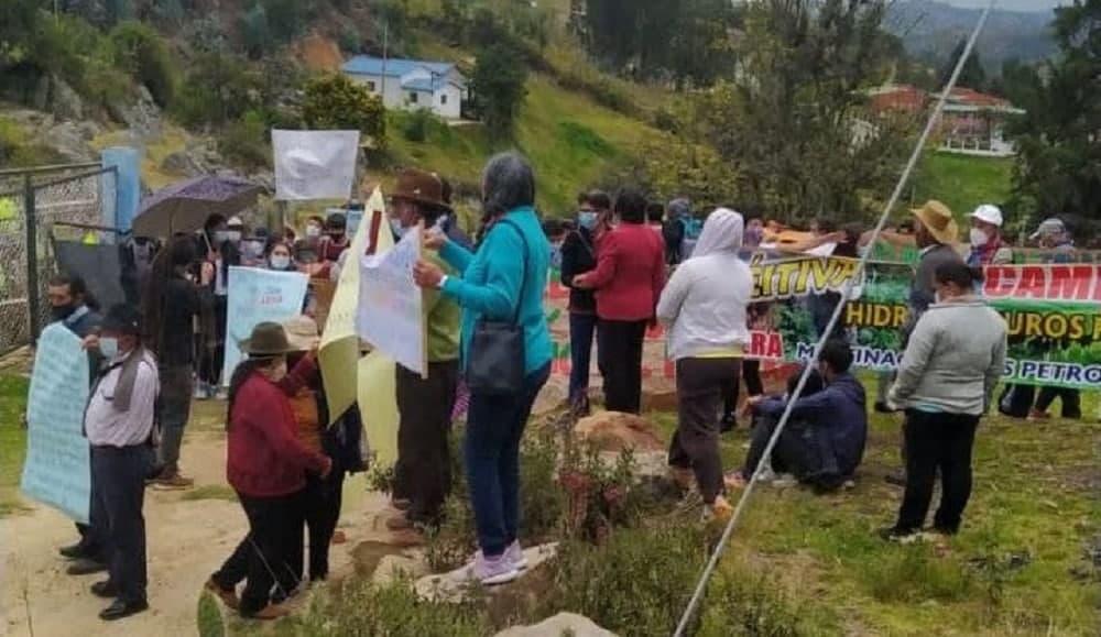 Habitantes de Betéitiva, Tasco, Busbanzá y Corrales le dicen No al petróleo #Tolditos7días 1