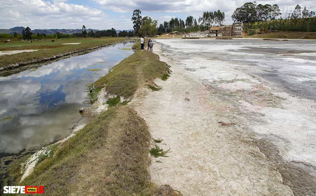 Emergencia en Tibasosa y otros municipios por alta salinidad en las aguas del río Chicamocha 1