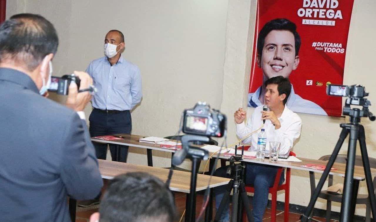 El Consejo Nacional Electoral le dio luz verde a la candidatura de David Ortega 2
