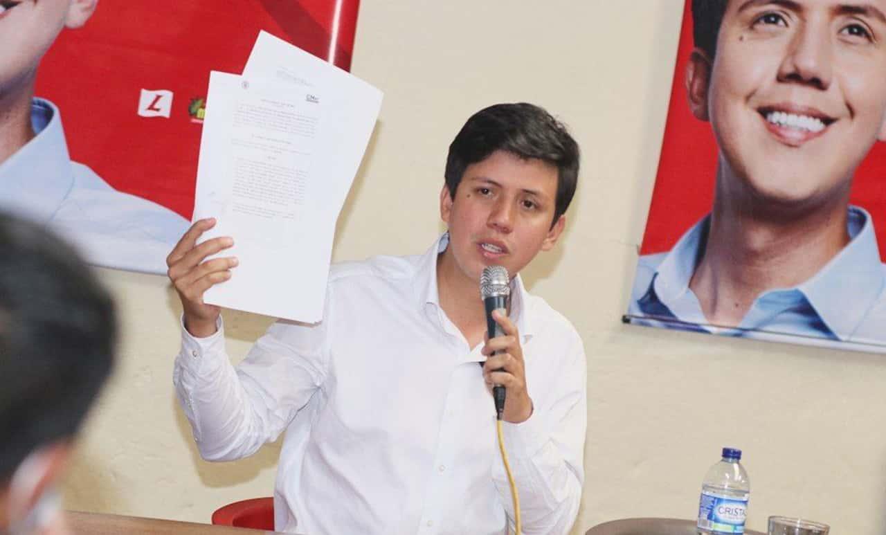 El Consejo Nacional Electoral le dio luz verde a la candidatura de David Ortega 1