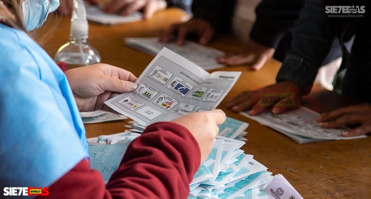 [Galería] - Así fue la jornada de elecciones atípicas de Duitama 2