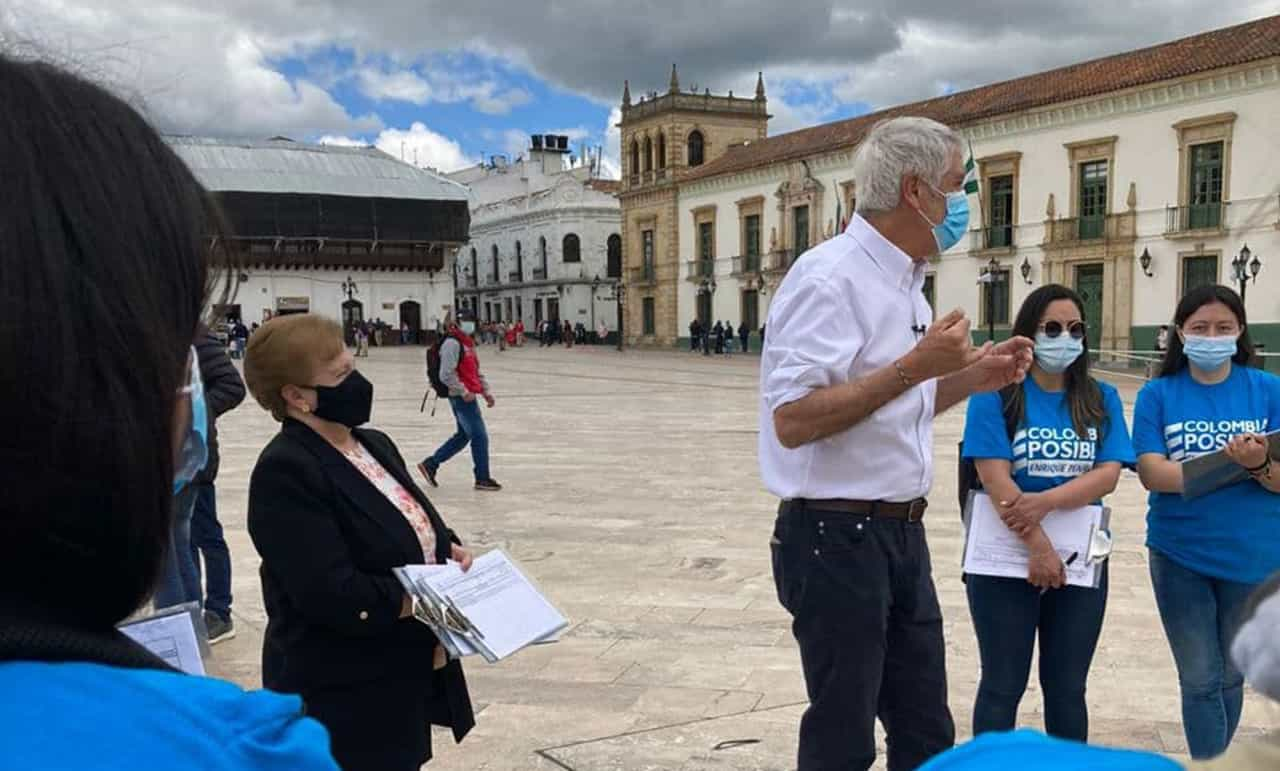 Enrique Peñalosa, fascinado en Boyacá y de frente contra Petro #Tolditos7días 1