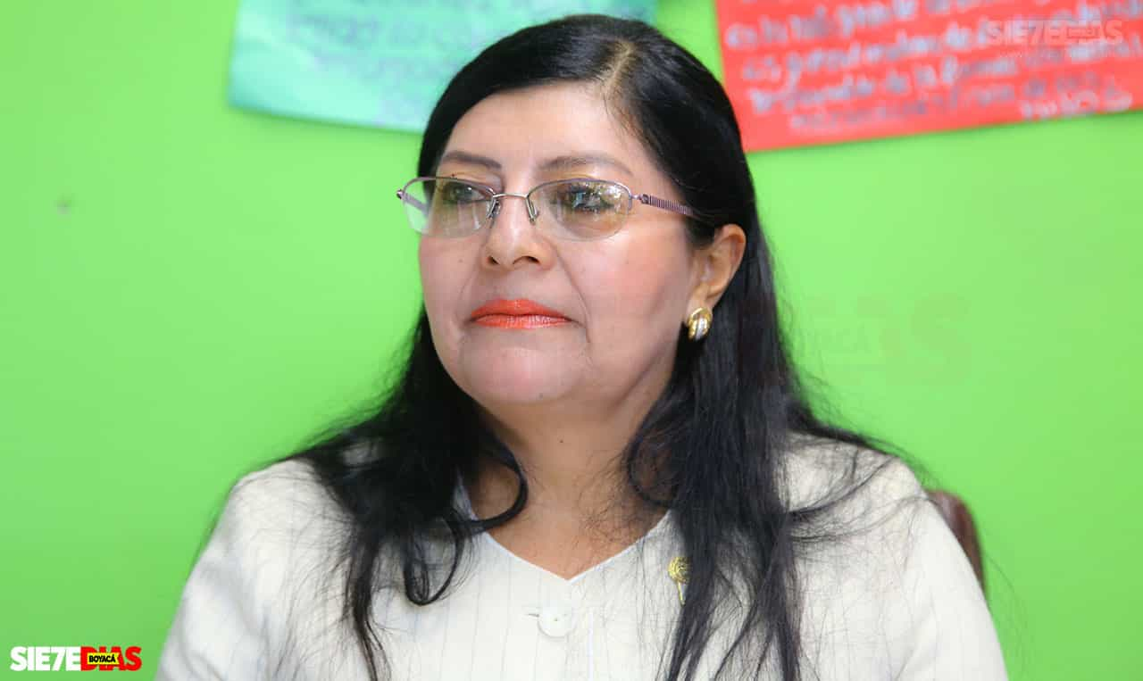Isabel Alfonso Cómbita, la nueva secretaria de Educación de Boyacá 1