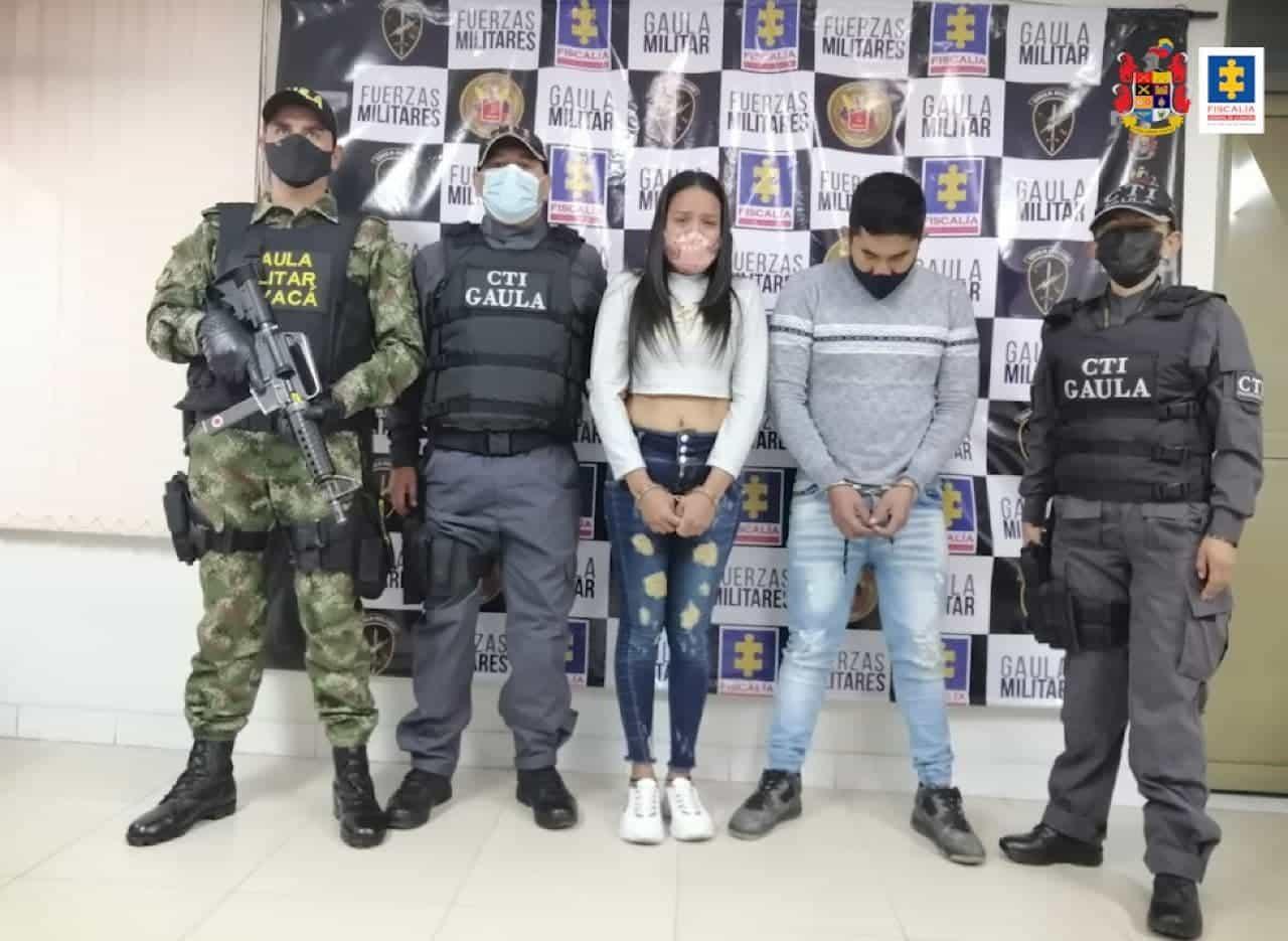 A prisión una pareja que venía extorsionando a una profesional de la salud en Boyacá 1