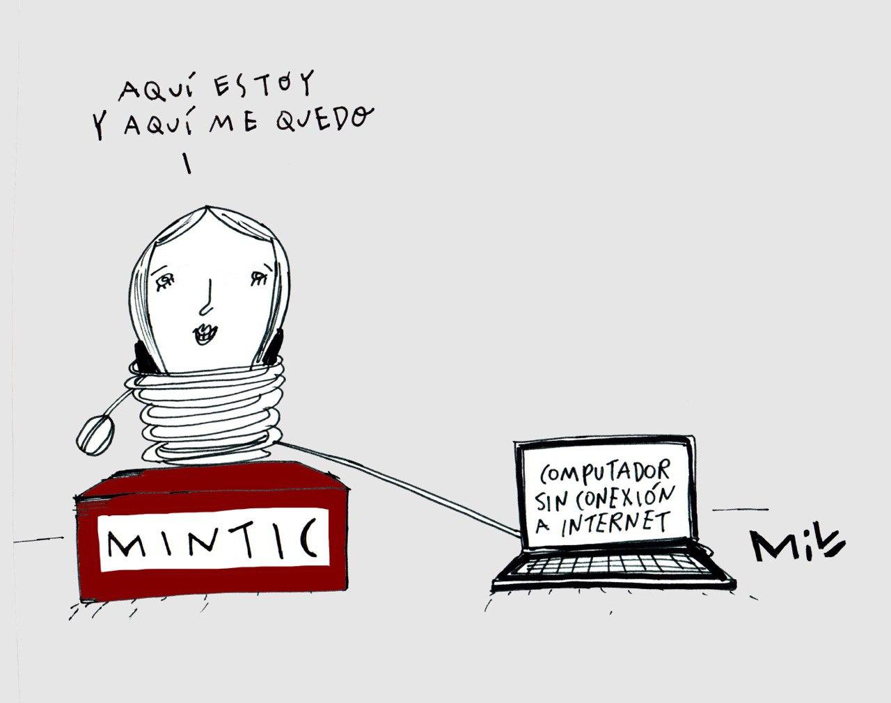 Aquí estoy y aquí me quedo - #Caricatura7días 1