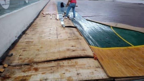 Esta es la explicación de lo que ocurrió con el maderamen del coliseo San Antonio de Tunja 2
