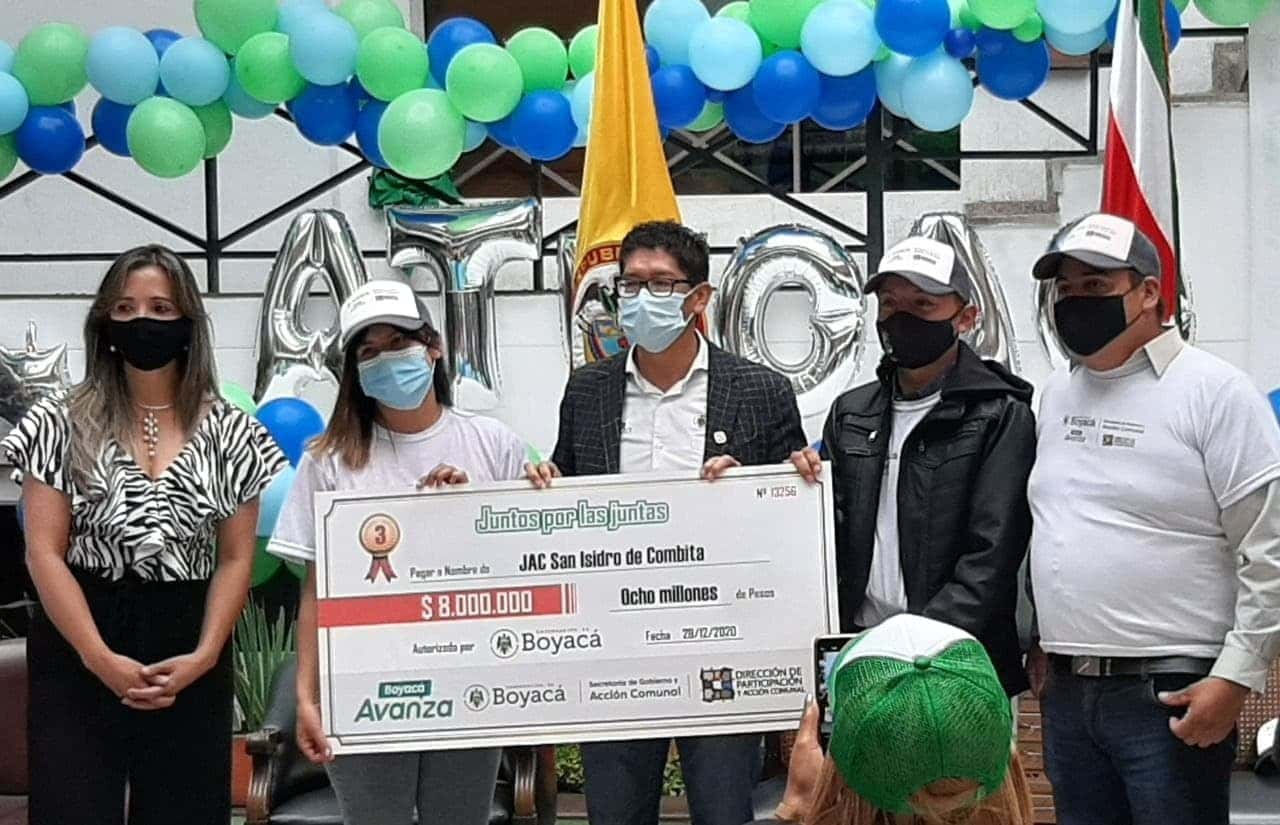 Hay 1.000 millones de pesos para financiar obras de juntas comunales #Tolditos7días 1