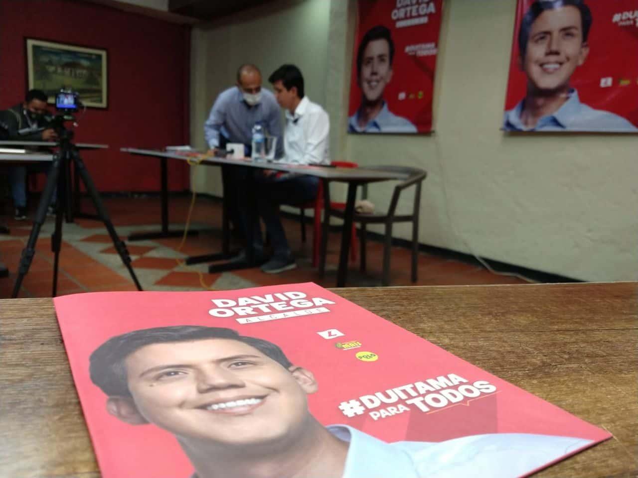 El Consejo Nacional Electoral le dio luz verde a la candidatura de David Ortega 3