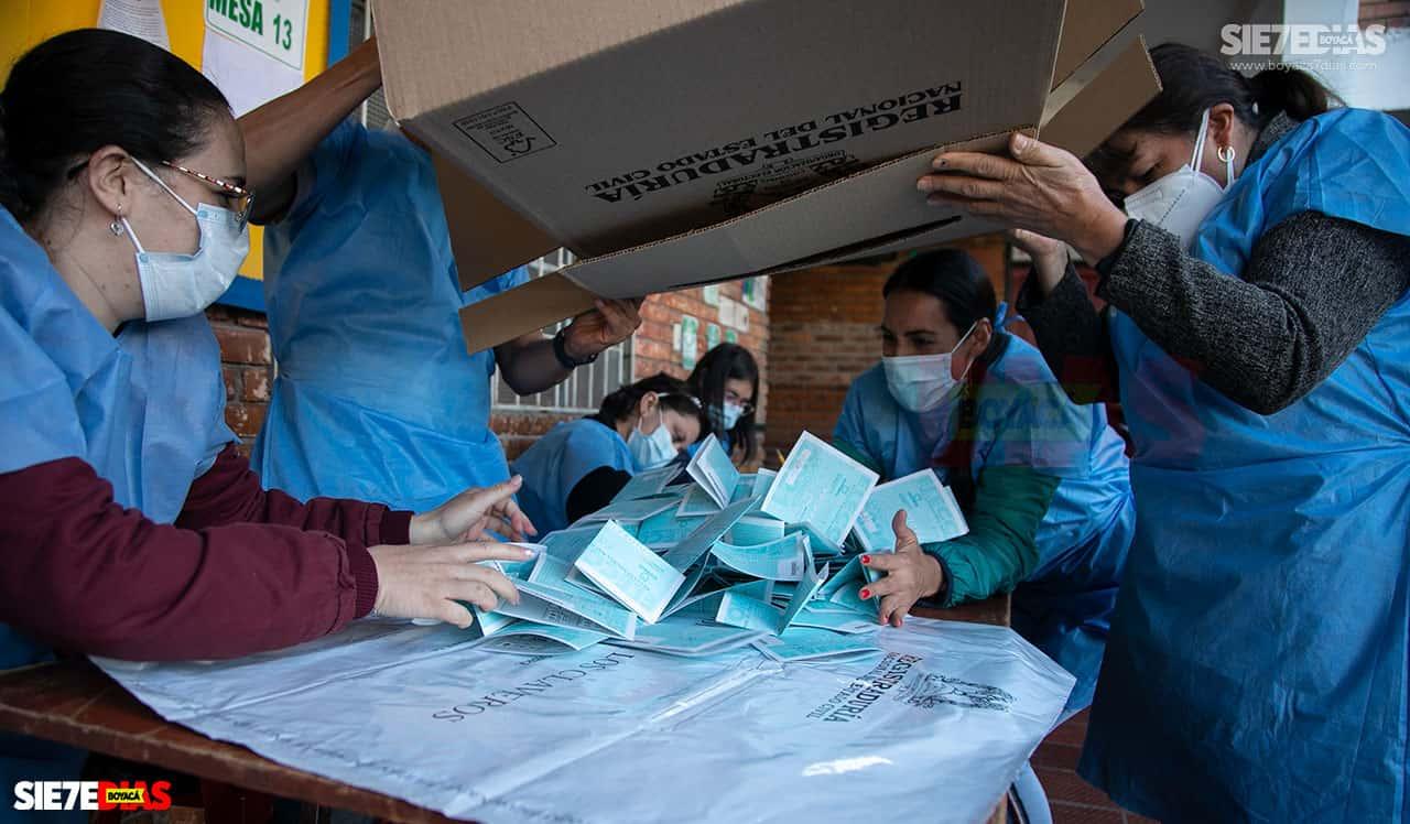 [Galería] - Así fue la jornada de elecciones atípicas de Duitama 6