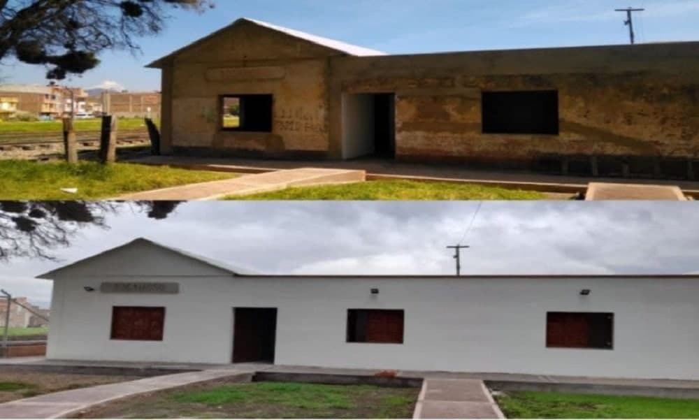El Invías invierte recursos en los campamentos férreos de Sogamoso y en la estación del tren de Saboyá 1