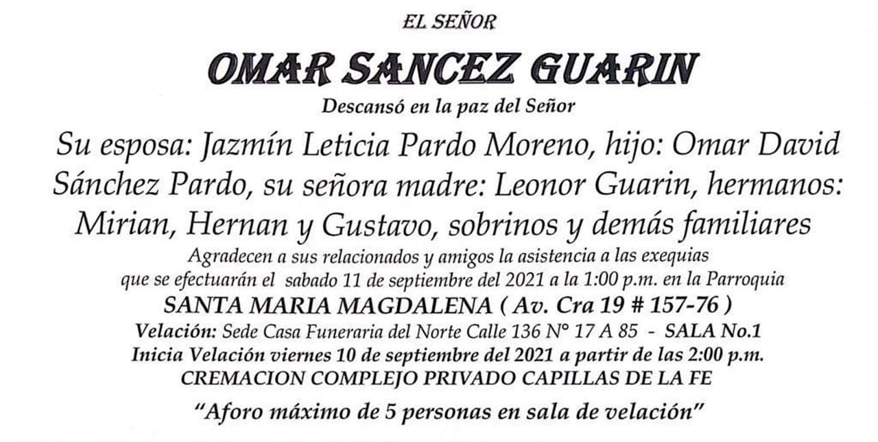 Se fue Omar Sánchez el creador de los Encuentros Boyacenses 2