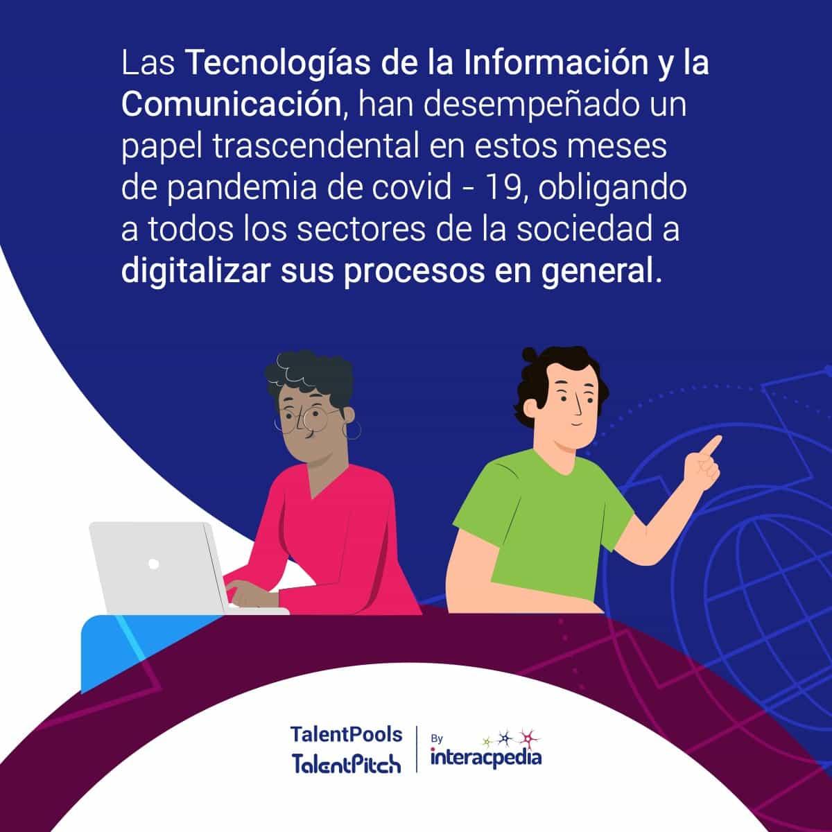 [Infografía] El COVID-19 agudizó la demanda de talento TI en Colombia 2