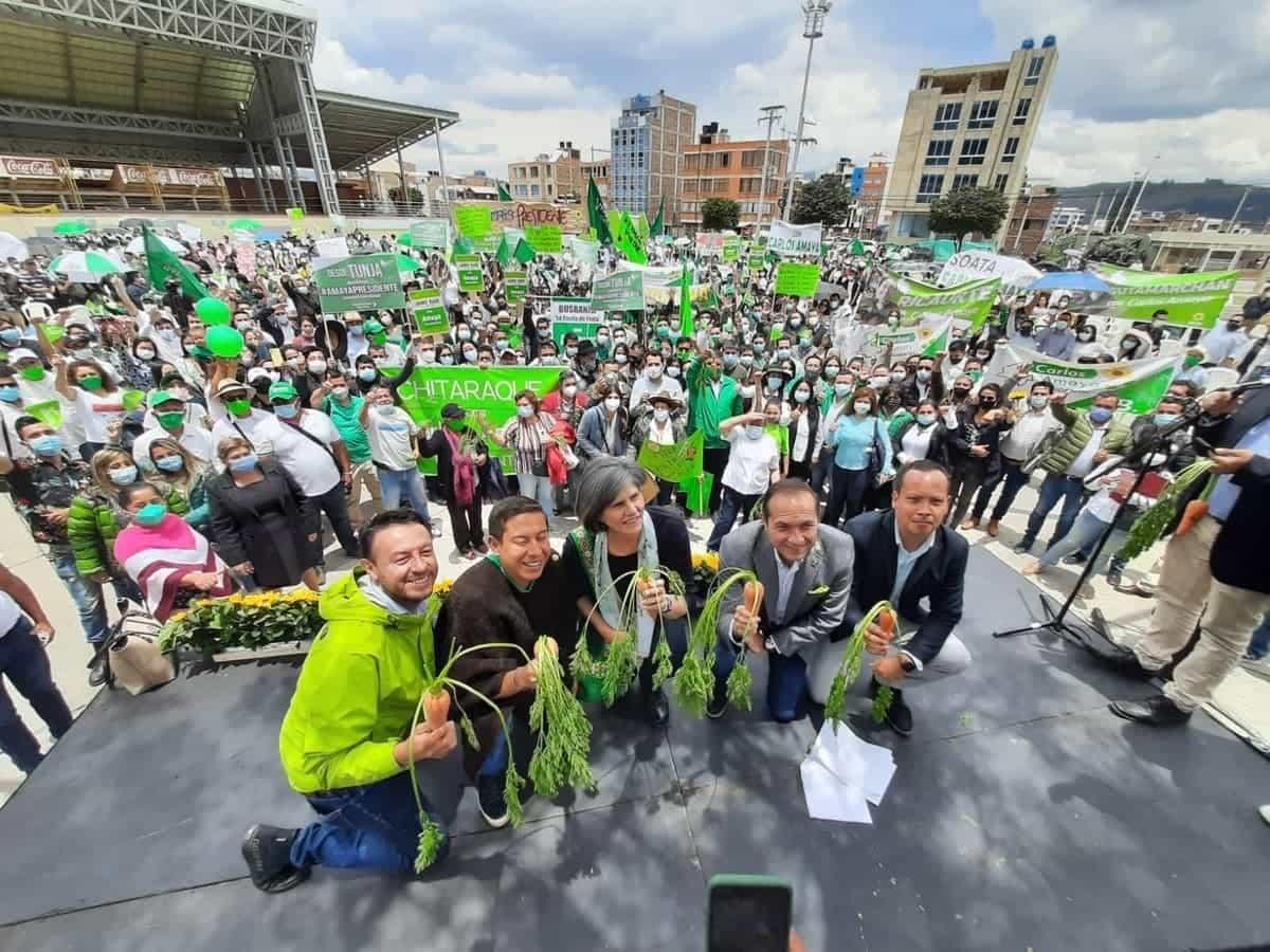 Amaya insinuó quiénes serán los candidatos verdes a la Cámara #Tolditos7días 1