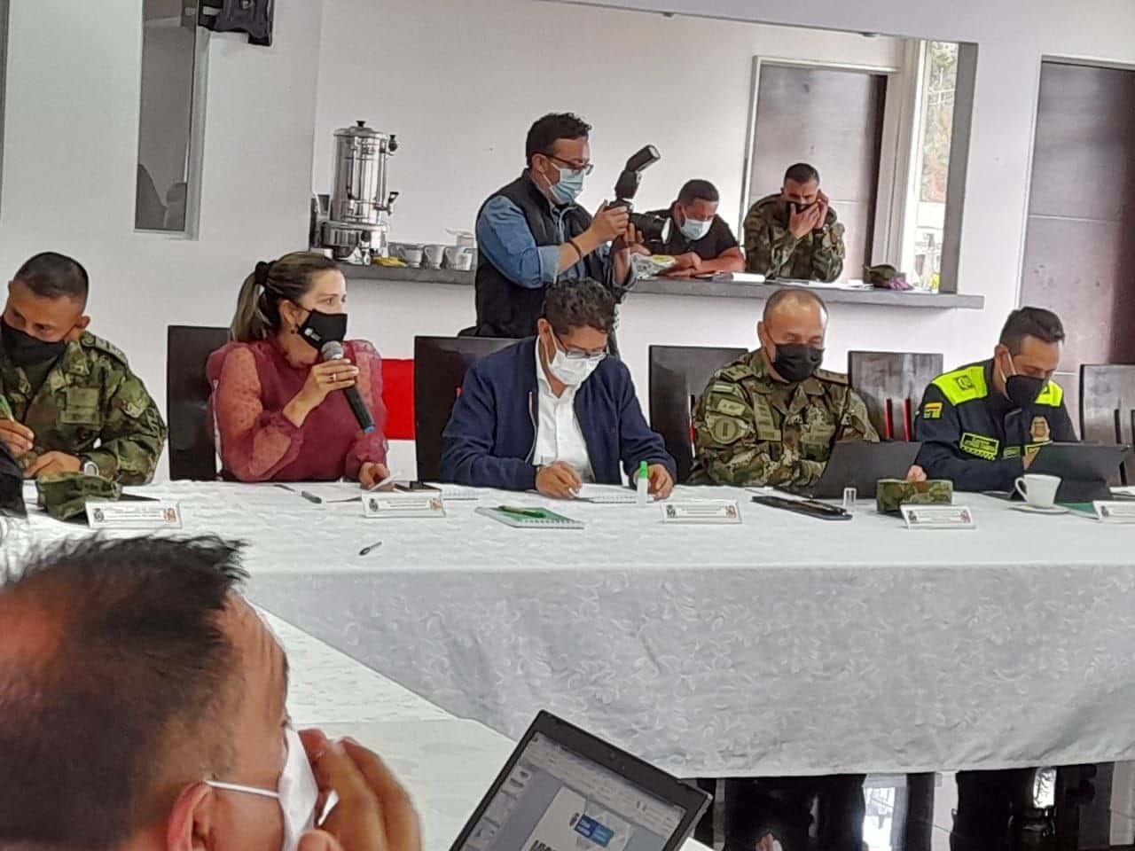En el consejo de seguridad llevado a cabo esta semana con los alcaldes de la provincia de Sugamuxi se anunciaron varias medidas. Foto: archivo particular