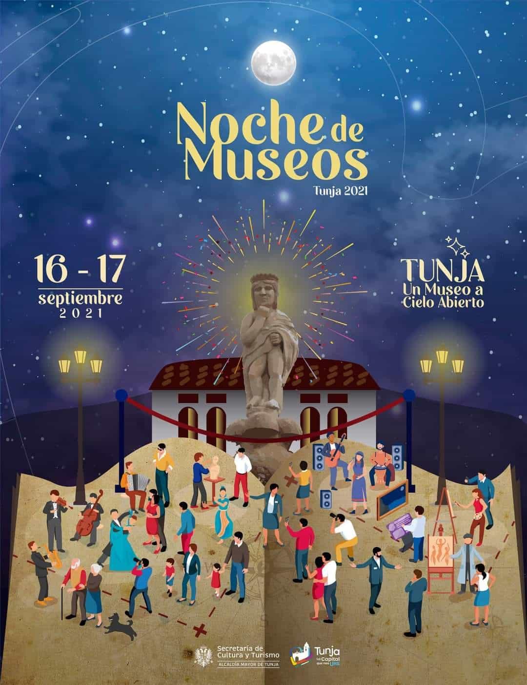 Llega la fascinante Noche de los museos a Tunja 1