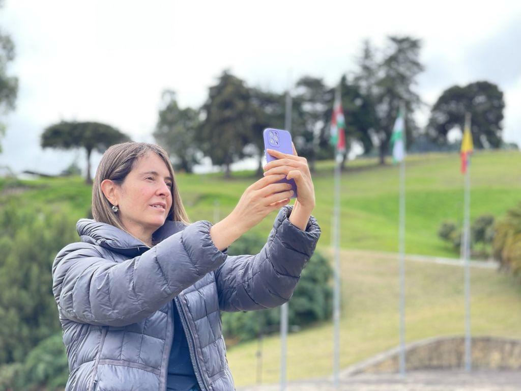 La senadora Paloma Valencia, en campaña por Boyacá #Tolditos7días 1