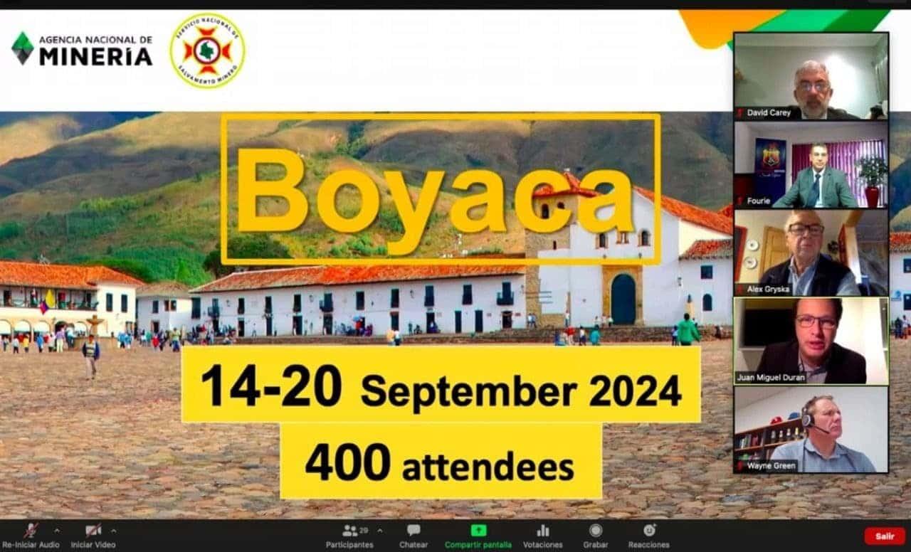 Boyacá se ganó la sede del Concurso Internacional de Rescate de Minas #Tolditos7días 1